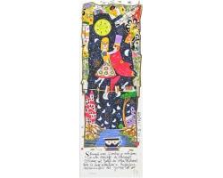 Stringiti a me ti porterò in volo come in un dipinto di chagall .Voleremo sul golfo dei sogni dove le lune scendono a riposare nascondendosi dal giorno