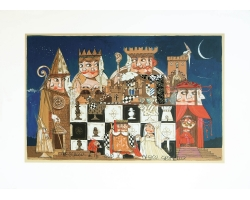 Re scacco e il suo magico castello