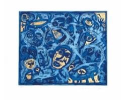 Tribale - blu
