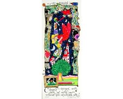 Chagall ci dipingerà mentre stretti nel nostro amore voleremo felici nel cielo della notte