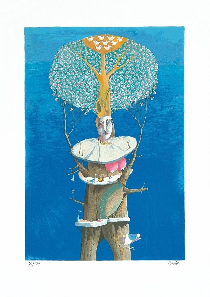 La donna albero